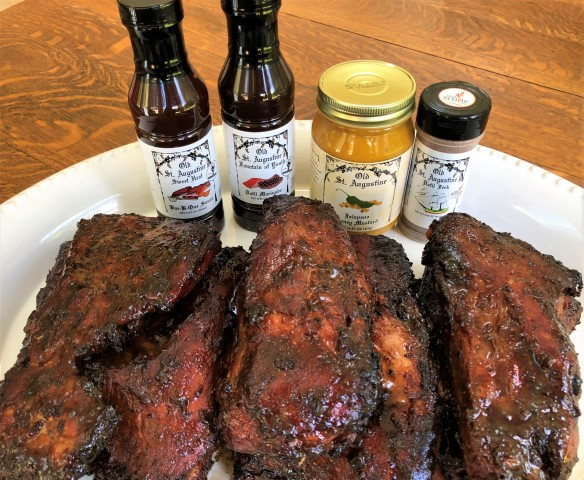 Smoked Ribs with OSA Products